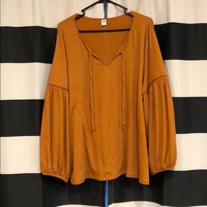 Old Navy blouse for women.